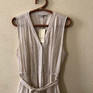 Anthropologie Dresses - NWT Anthropologie Thylo Minimalist Midi Dress L